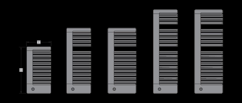Различные размеры и вариации моделей